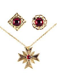 Dracula jewellery set