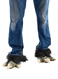 Dragon claws shoe cuffs