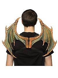 Dragon wings orange