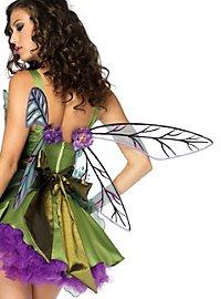 Dragonfly Wings purple & green