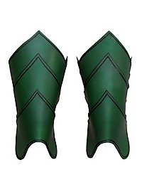 Greaves - Dragon Rider green