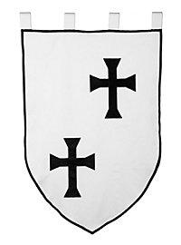 Drapeau - Ordre des Chevaliers teutoniques