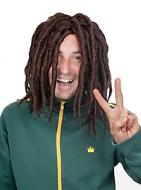 Dreadlocks marron Perruque
