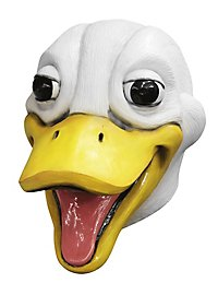 Duck mask laughing