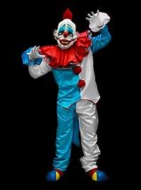 Dummbatz Clownskostüm mit Maske