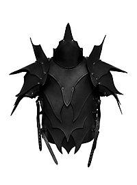 Dunkelelf Lederrüstung schwarz