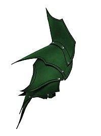 Dunkelelf Schultern grün