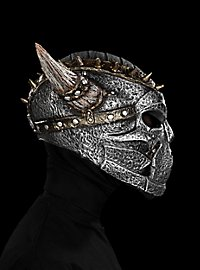 Dunkler Paladin Maske aus Latex