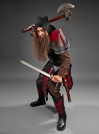 Dwarf Leather Armor Set red & black