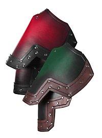 Leather Pauldrons - Dwarf