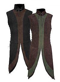 Dwarf Surcoat made of suede