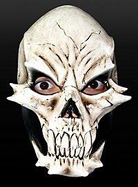 Echsenschädel Maske aus Latex