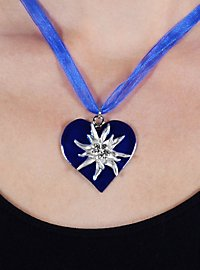 Edelweiss Necklace blue