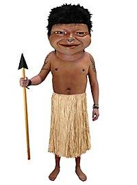 Eingeborener Maskottchen