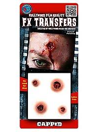 Einschussloch 3D FX Transfers