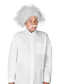 Einstein Perücke und Bart