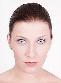 Hellblaue Kontaktlinsen Eisfee