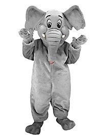 Eléphant de dessin animé Mascotte