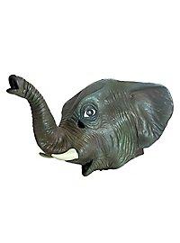 Elephant Full Mask Made of Latex