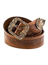Elf Leather Belt brown