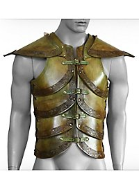 Leather armour - Elven cuirass, dark green