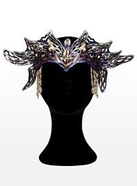 Elfenkönigin Krone aus Leder