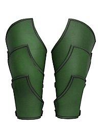 Armschienen - Elfenkrieger grün