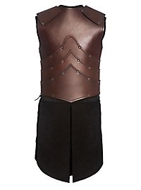 Elfenkrieger Lederrüstung braun