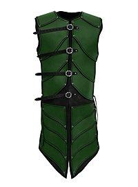 Elfenkrieger Lederrüstung grün