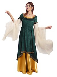 Elfenprinzessin Kostüm grün-gold