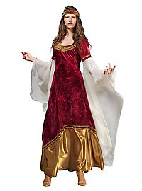 Elfenprinzessin Kostüm rot-gold