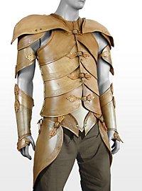 Elfenrüstung aus Leder beige