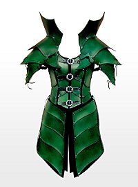 Elven Queen Leather Armour green