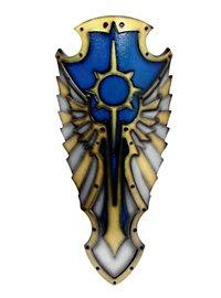 Hochpaladinschild blau Medieval 2nd Edition