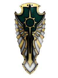 Engel Schild grün Polsterwaffe