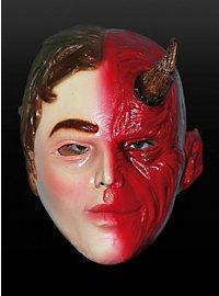 Engel & Teufel Maske aus Latex