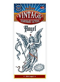 Engel Vintage Klebe-Tattoo
