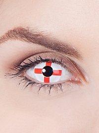 England Flag Contact Lenses