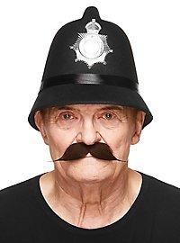 Englischer Moustache Schnurrbart