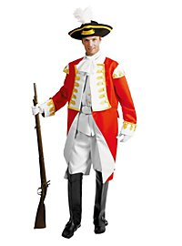 English officer costume