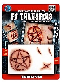 Engraved 3D FX Transfers