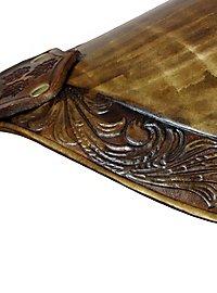 Épaulières d'elfe de la forêt en cuir