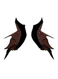 Épaulières d'elfe noir