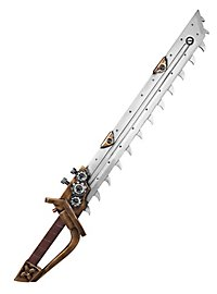 Épée tronçonneuse - Steampunk
