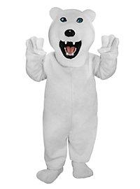 Eric l'ours polaire Mascotte