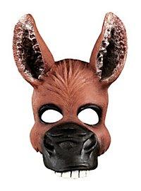 Esel Halbmaske aus Latex