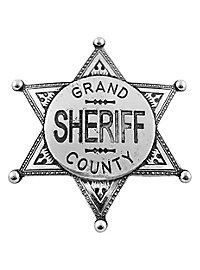 Étoile de shérif Grand County