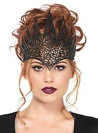Evil queen crown black