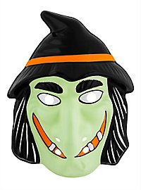 Evil Witch PVC Kids Mask