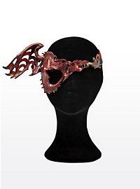 Eye Patch Fire Dragon Leather Eye Mask